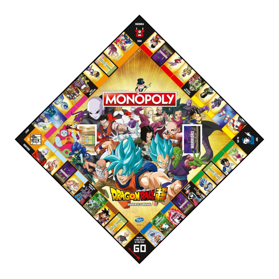 Monopoly - Dragon Ball Super Edition