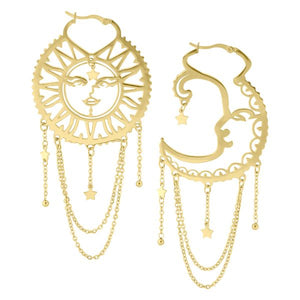 Old School Sun and Moon Hoops