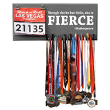 Though she be but little, she is fierce - Shakespeare - Medals and Bib Hanger, Holder, Display