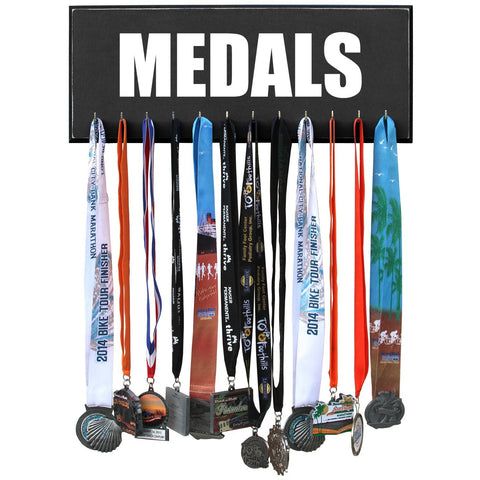 MEDALS Race Hanger Display