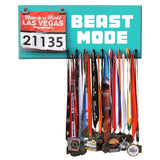 Running Marathon Medal Display, Holder, Hanger - BEAST MODE