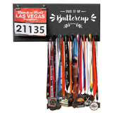 Suck It Up Buttercup - Medals and Bib Hanger, Holder, Display