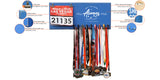 May The Wind Be Always At Your Back - Medals and Bib Hanger, Holder, Display