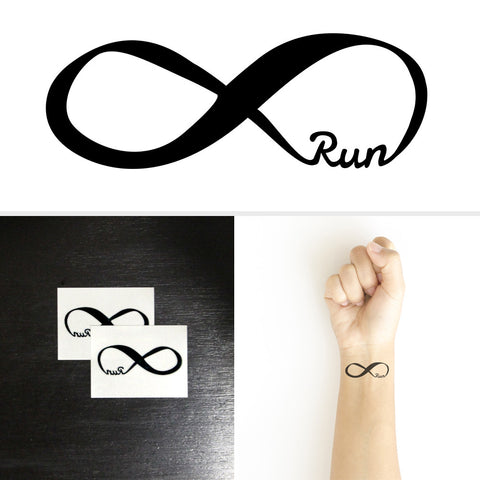 Runners Temporary Tattoos