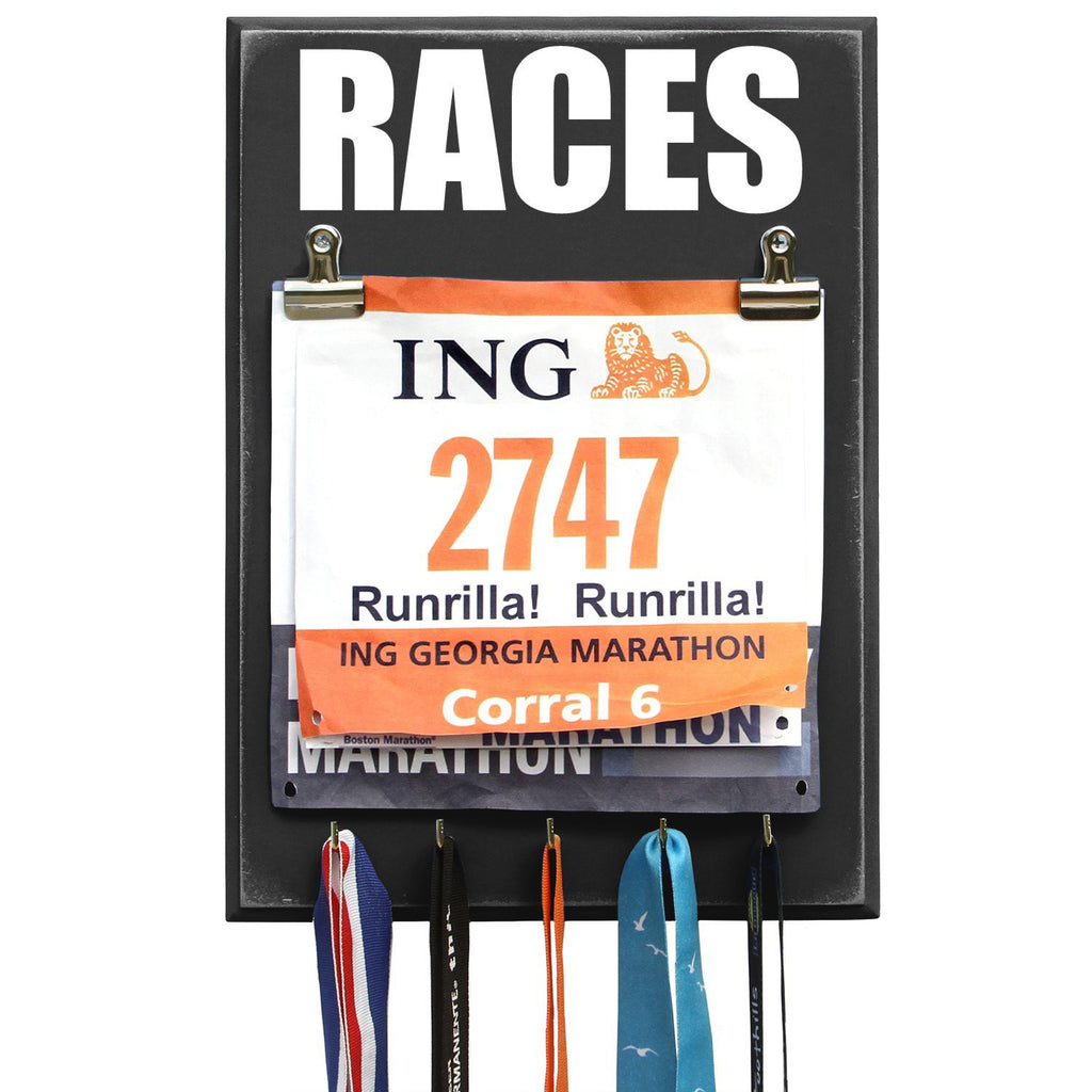 Marathon Medal Display - RACES