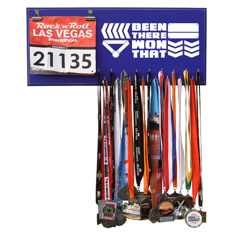 Been There Won That - Medals and Bib Hanger, Holder, Display