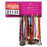 Give A Girl The Right Shoes And She Can Conquer The World- Marilyn Monroe- Medals and Bib Hanger, Holder, Display