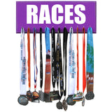Running Medals Display Rack - RACES