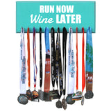 Medal Hanger - Run Now Wine Later