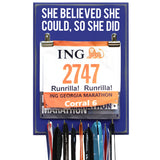 She Believed She Could So She Did - Medal Hanger