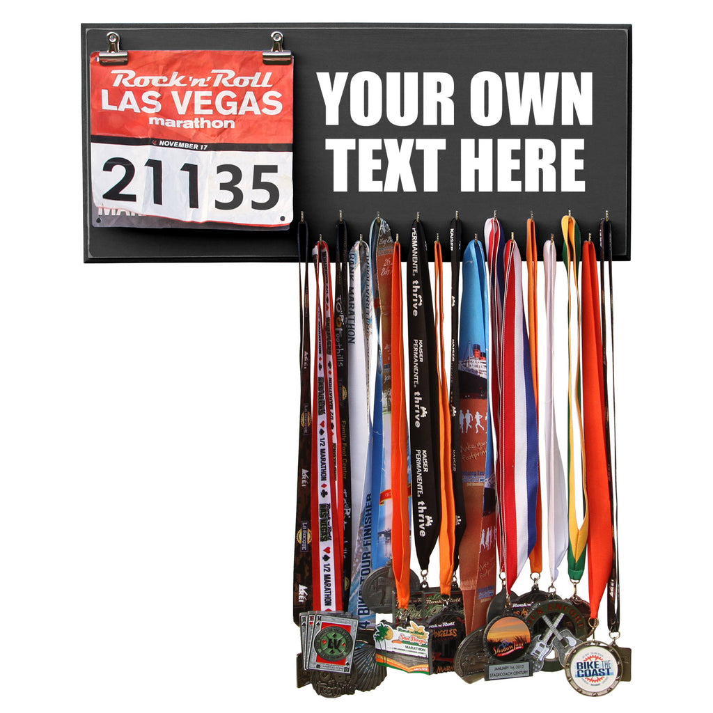 Custom Medal Hanger Display