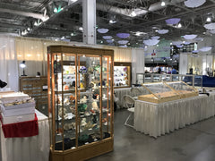 Bisbeeborn Booth at the Tucson Gem and Mineral Show