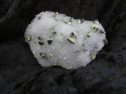 Chalcopyrite on Quartz - SOLD - Bisbeeborn - 1