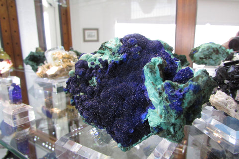 Azurite and Malachite -SOLD - Bisbeeborn - 1