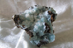 Calcite on Hemimorphite - Bisbeeborn - 1