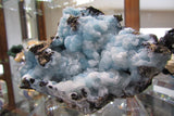 Calcite on Hemimorphite - Bisbeeborn - 4