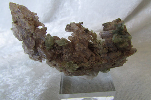 Tremolite on Scapolite - Bisbeeborn - 1
