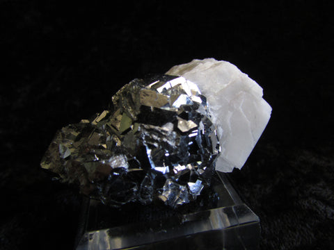 Skutterudite with Calcite - Bisbeeborn - 1