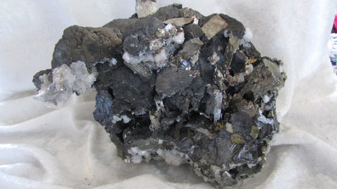 Sphalerite and Arsenopyrite - Bisbeeborn