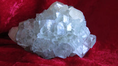 Calcite on Fluorite - Bisbeeborn - 1