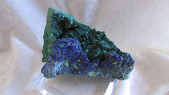 Azurite and Malachite after Azurite - Bisbeeborn - 1