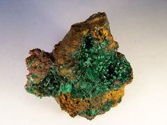 Bisbee Malachite Crystals - SOLD - Bisbeeborn - 1
