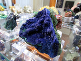 Azurite on Malachite- SOLD - Bisbeeborn - 3