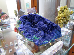 Azurite on Malachite- SOLD - Bisbeeborn - 1