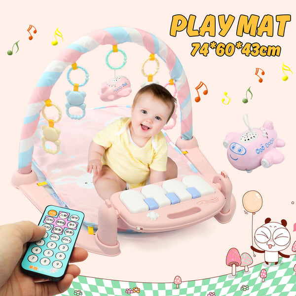Baby Play Mat - Kick And Play Activity Piano Gym