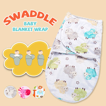 Baby Swaddle Blanket Velcro Wrap Sleep Sack - Unisex