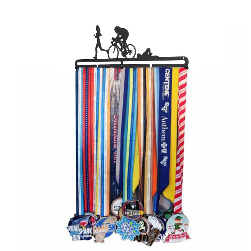 Medal Holder Medal Hanger for Running Gymnastics Cycling -  Marathon Triathlon Sports Race Display Rack