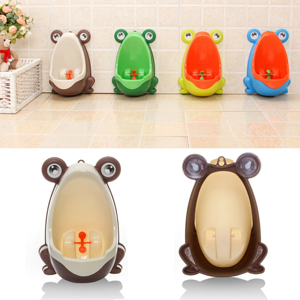 Boy Potty Toilet Training Frog Urinal - Wall Mounted