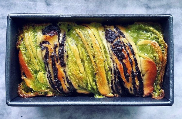 Mizuba Matcha & Chocolate Babka - our 5th birthday cake!
