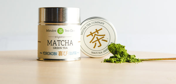 Welcome, Yorokobi!! Mizuba's New Single-Estate, Organic Matcha Green Tea!