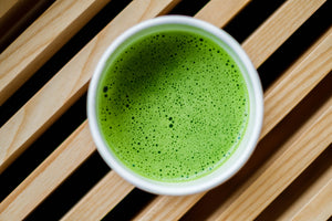 Ceremonial Matcha Green Tea from Japan.