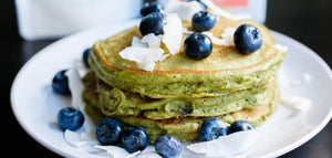 Mizuba Matcha Blueberry Pancake Recipe