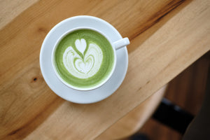 Matcha Latte Throwdown