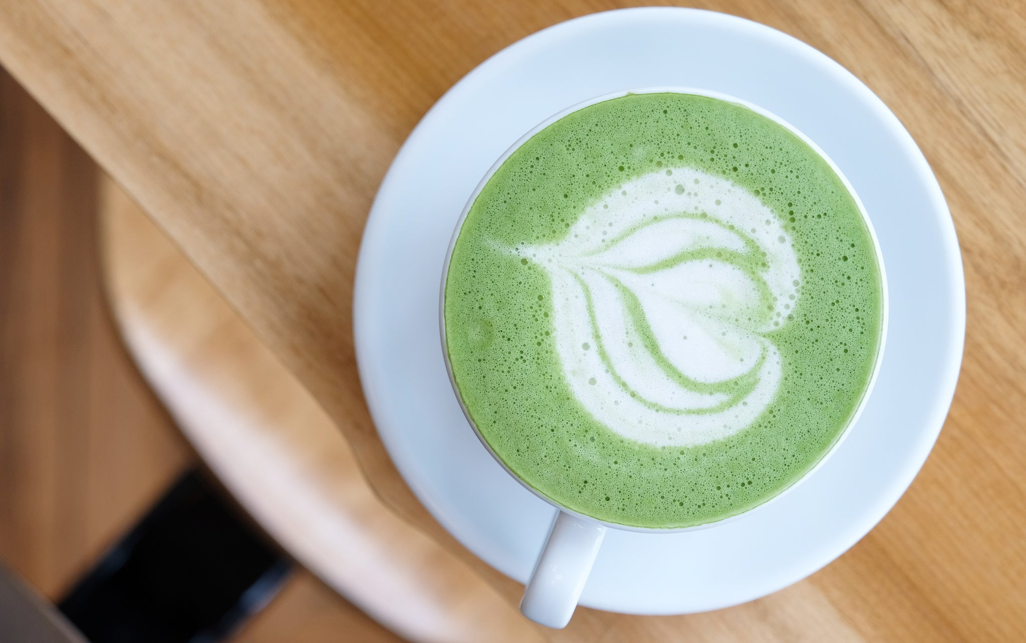 Stay at home recipes: Matcha Green Tea Latte