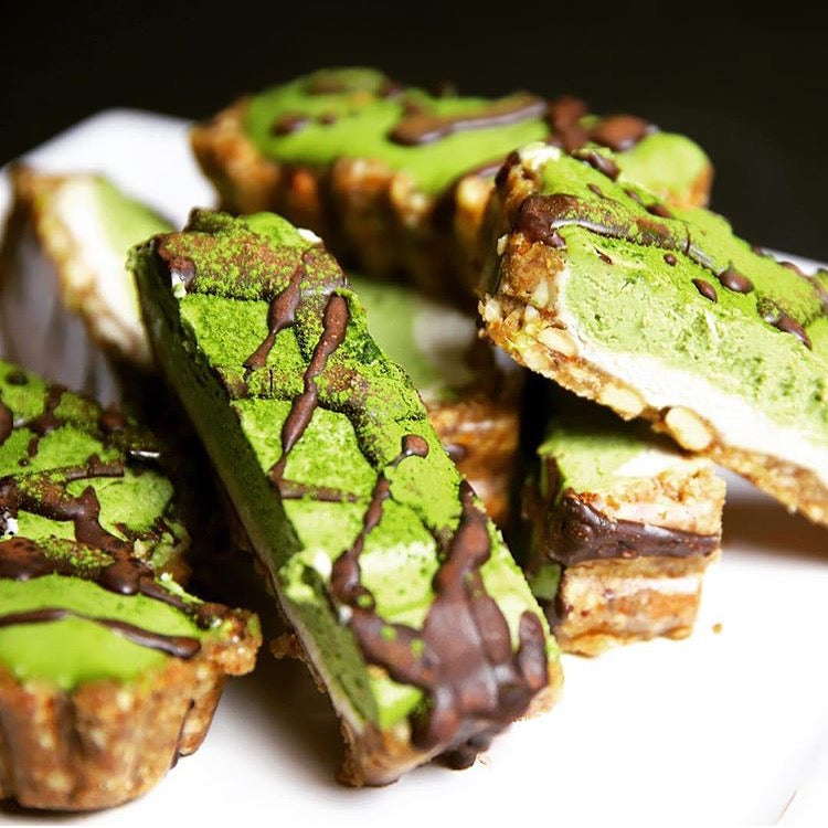 Matcha Whole Wheat Breakfast Biscotti Cookie