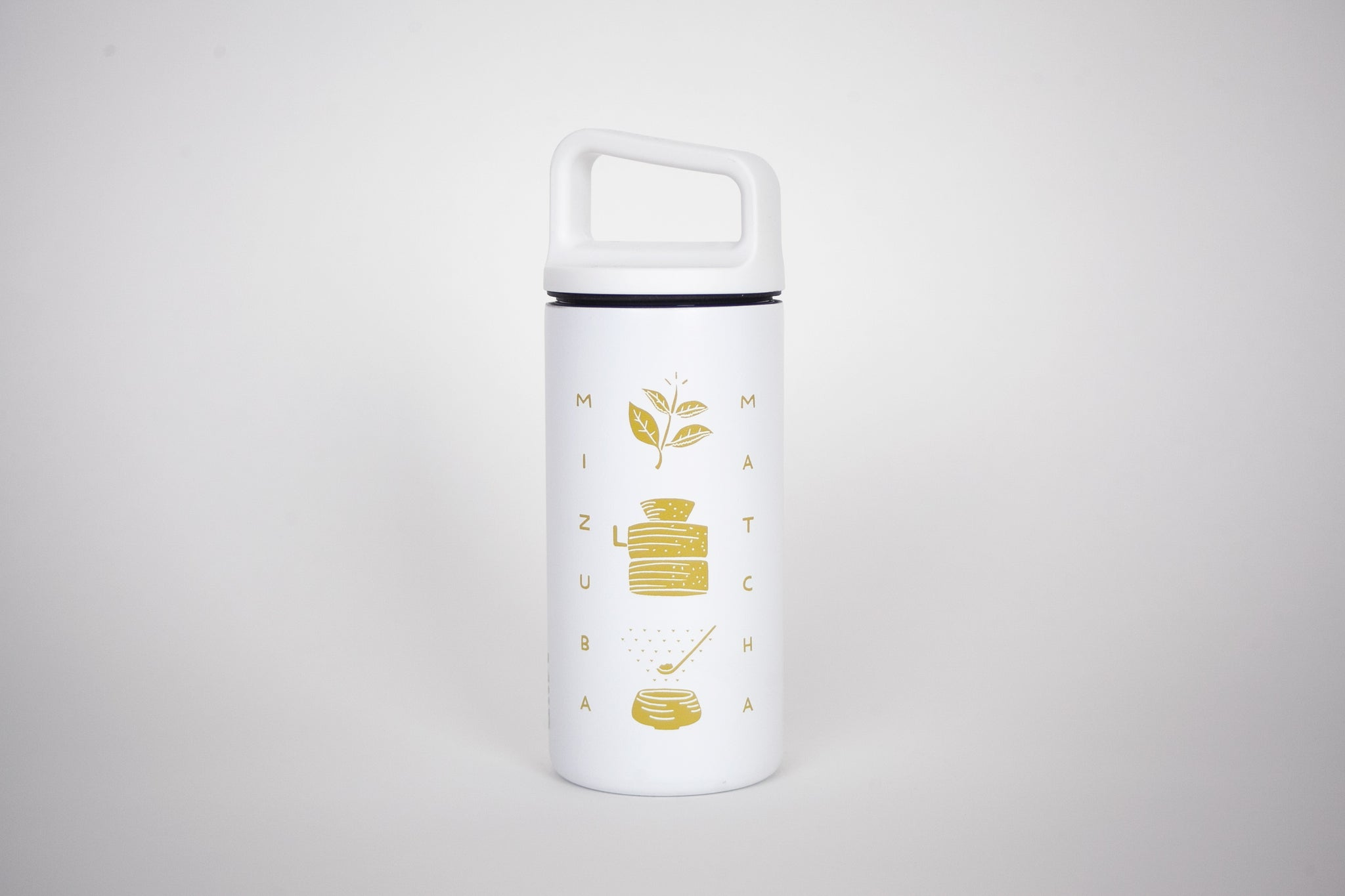 Sleek Mizuba Matcha Green Tea Insulated Double Wall Thermos for Camping and Adventures. Interview with the Artist