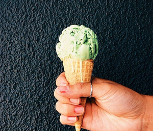 Heart Melting Matcha Ice Cream || Mizuba Tea Co. + Bi-Rite Creamery
