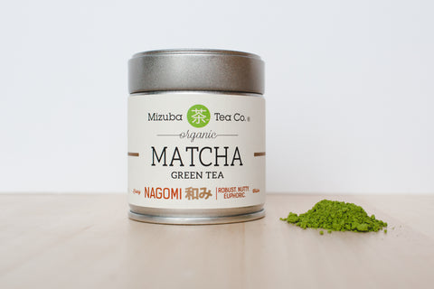 Mizuba Tea Co. Ceremonial Organic Matcha, Nagomi
