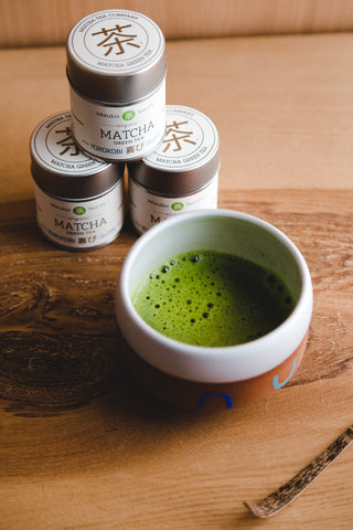 Single Estate Mizuba Matcha Green Tea. Organic ceremonial from Japan!