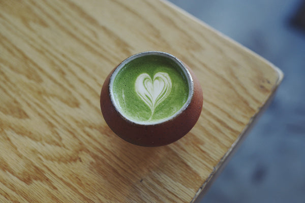 Matcha Green Tea Cortado