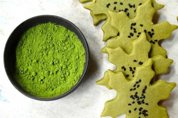Matcha Shortbread Recipe