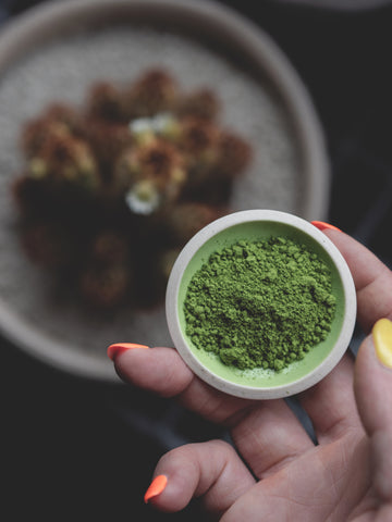 Best organic Japanese matcha to use for vegan coconut Granola