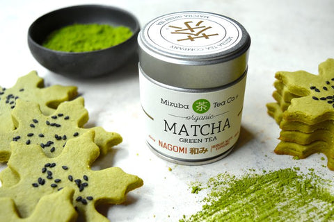 Matcha Green Tea and Shortbread Cookies!