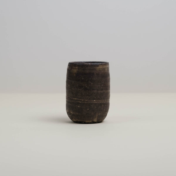Traditional Yunomi Japanese Tea Cup. Handmade in Los Angeles, California