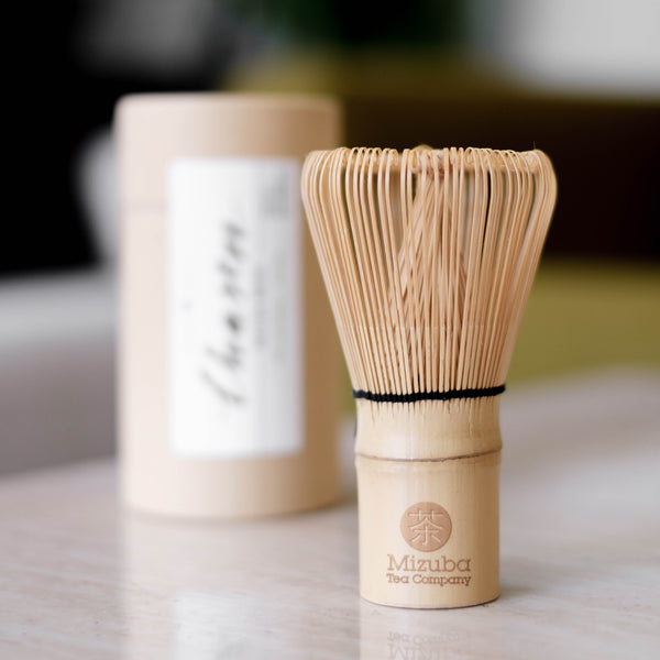 Chasen bamboo whisk for matcha green tea