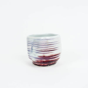 Handmade porcelain Japanese teacup